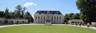 Château La Louvière - Château La Louvière, the main building as seen from the main entrance.