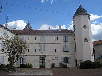 Bardos, Pyrénées-Atlantiques - North facade of the Château de Salha