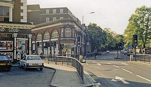 Chalk Farm - Image: Chalk Farm station entrance geograph 3300437 by Ben Brooksbank