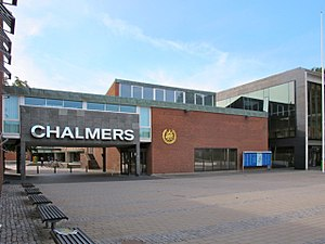 PewDiePie - Entrance to Chalmers University of Technology, which PewDiePie dropped out of