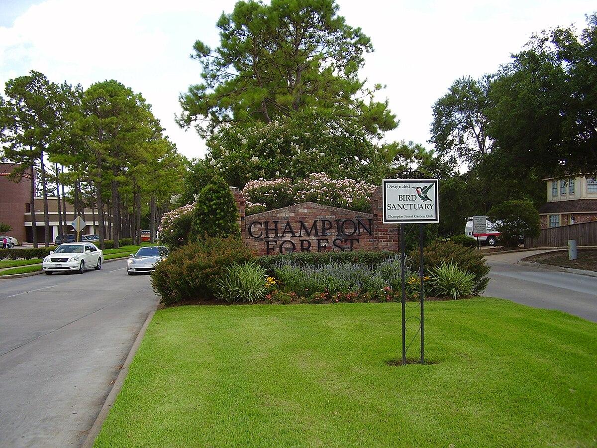 River Oaks Texas >> Champion Forest, Texas - Wikipedia