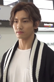 Changmin at Gimpo International Airport in January 2019.png