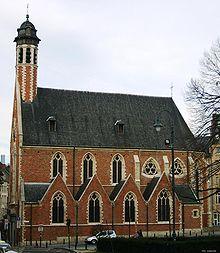 la chapelle de la. Vue Depuis Le Mont Des Arts. La Chapelle De