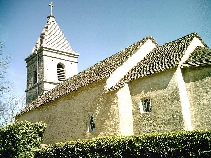 La chapelle de Mornay (Nurieux-Volognat, Ain, France)