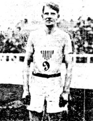 Charles Bacon - Charles J. Bacon Jr. at the 1908 Olympic Games.