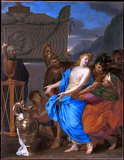 painting by Charles Le Brun