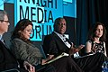 Charles Sykes, Mirta Ojito, Mizell Stewart III, Joanne Lipman during the 2019 Knight Media Forum (46505328184).jpg
