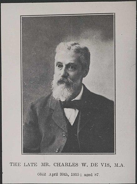 Charles Walter De Vis