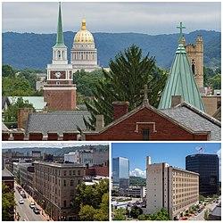 Views of Downtown Charleston, West Virginia