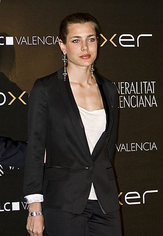 Charlotte Casiraghi - Casiraghi at the gala awards for the 2010 Global Champions Tour in Valencia, May 2010