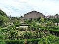 Chateau de Fléville-Roseraie côté village.jpg