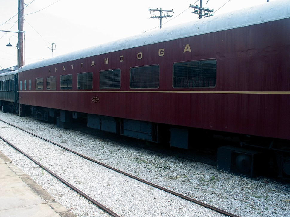 Chattanooga Choo-Choo train