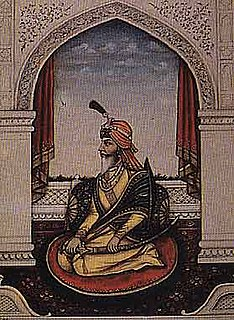 Chattar Singh Attariwalla Indian Sikh warrior