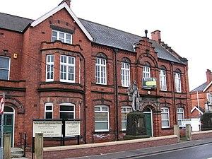Derbyshire Miners' Association - Former Derbyshire Miners' Association offices in Chesterfield.