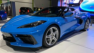 Chevrolet Corvette Sports car by the Chevrolet division of General Motors (GM)