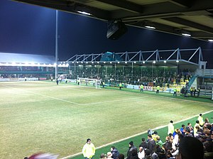 Stadionul Concordia - Image: Chiajna, Romania panoramio