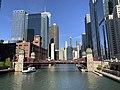 Chicago skyline on a sunny day (47090569424).jpg