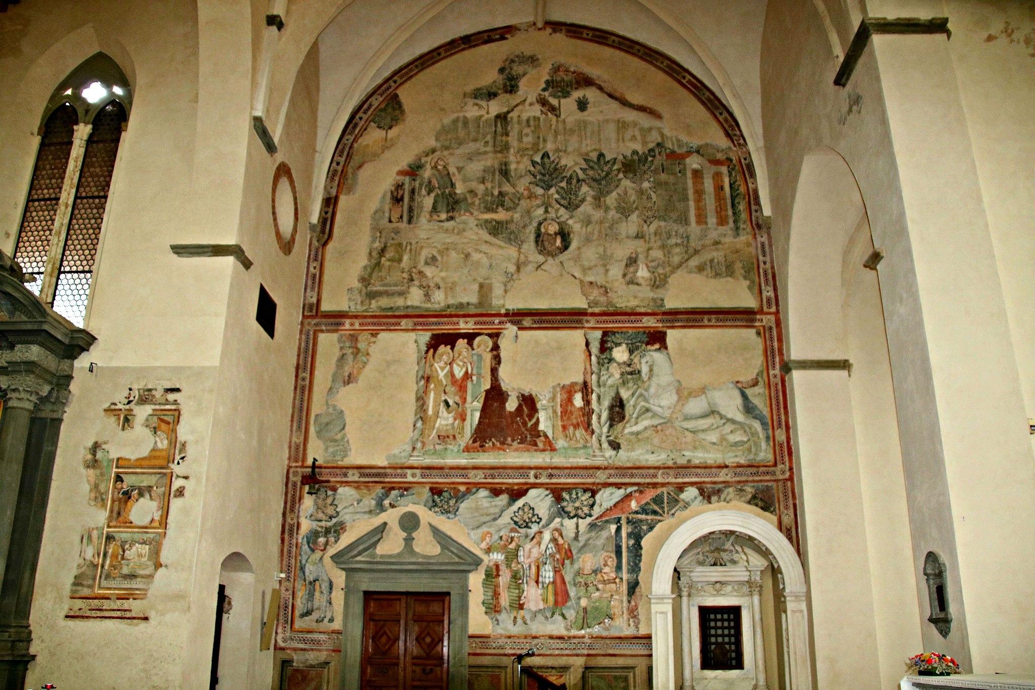 Chiesa San Francesco (Lucignano) transetto 1