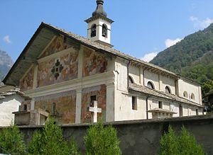 Issime - Saint James Church