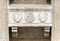 Chiesa di San Lorenzo a Vicenza - Facade - Monument to Lapo degli Uberti.jpg