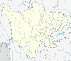 Changning County, Sichuan is located in Sichuan