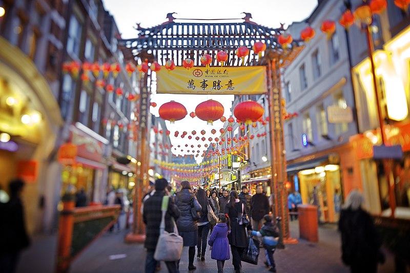 Porte de Chinatown à Soho, Londres - Photo d'Aurélien Guichard