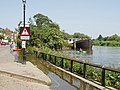 Chiswick Mall flooded at high tide - geograph.org.uk - 1327767.jpg