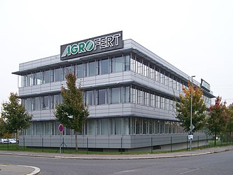 Andrej Babiš - Headquarters of Agrofert in Chodov, Prague.
