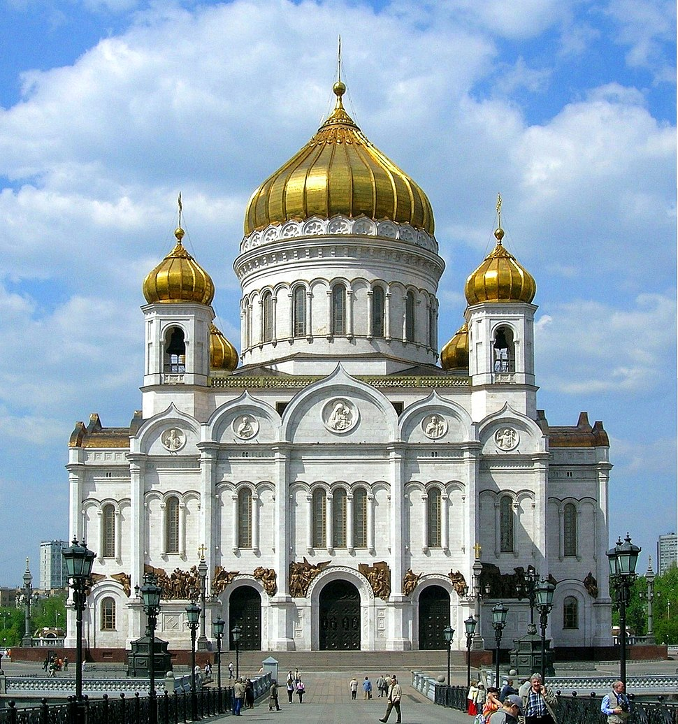 Christ the Savior Cathedral Moscow