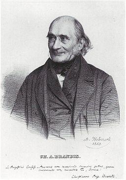 Christian August Brandis 1853