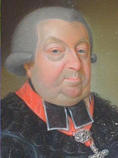 Christoph Franz von Buseck Prince-bishop