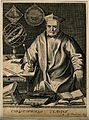 Christopher Clavius. Line engraving by E. de Boulonois. Wellcome V0001150.jpg