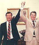 Christopher Cox celebrates his 1988 victory with Ronald Reagan.jpg