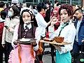 Chu Chu and Kiriya Musi as Nezuko Kamado and Tanjiro Kamado 20201212a.jpg