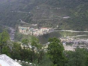Chukha District - View of Chukha (Mepetsa), Chukha District