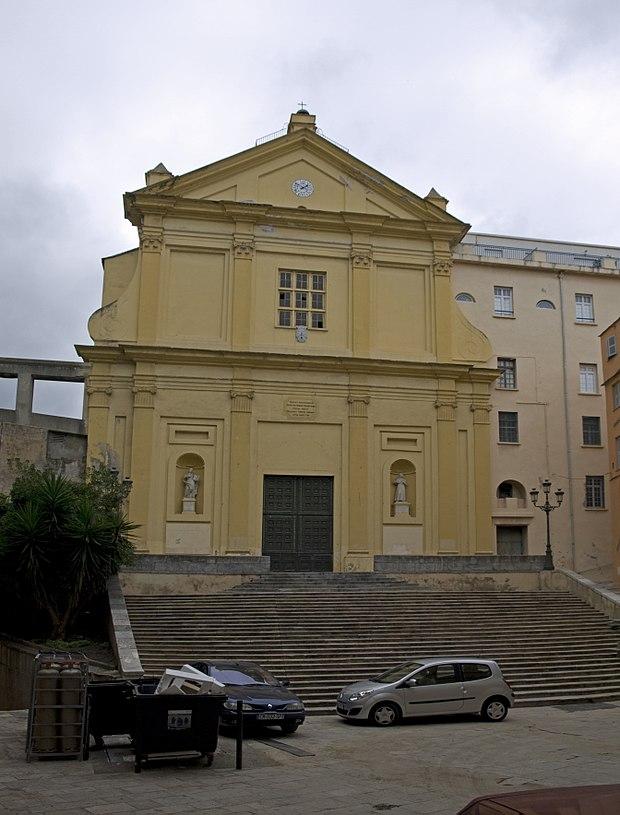 Monument historique à Bastia