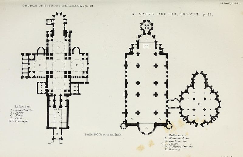File:Church and conventual arrangement. With copious references, a complete glossary, and an index. And illustrated by a series of ground-plans and plates of the arrangements of churches in different (14597079800).jpg