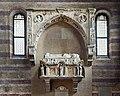 Church of the Eremitani (Padua) - Interior Tomb of Ubertino da Carrara.jpg