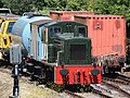 Churston - D2371 with engineering stock.JPG