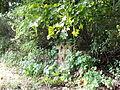 Ciężkowice park dworski, 2 poł. XIX fragment ogrodzenia nr 613934.JPG