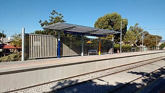 Croydon railway station, Adelaide - Croydon Station after the 2018 rebuild