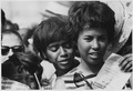 Civil Rights March on Washington, D.C. (Young women at the march.) - NARA - 542022.tif