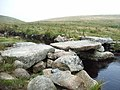 Clapper Bridge - River Avon - Dartmoor - geograph.org.uk - 364333.jpg