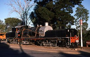 South African Class GDA 2-6-2+2-6-2 - Image: Class GDA 2257 (2 6 2+2 6 2)