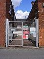 Clays Ltd, gate on Chaucer Street - geograph.org.uk - 2065540.jpg