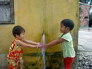 East Meets West (non-governmental organization) - EMW Clean Water and Sanitation program, Vietnam