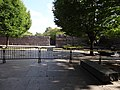 Closed Franklin Delano Roosevelt Memorial; detailed view; Washington, DC; 2013-10-06.JPG