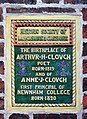 Clough plaque, 9 Rodney Street, Liverpool.JPG