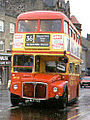 Clydeside Scottish Routemaster bus RM720 (WLT 720), Johnstone, 13 April 1989.jpg