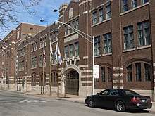 Chicago Military Academy, Bronzeville